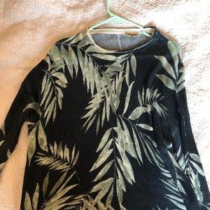 Show Me Your MuMu Palm Print Sweater